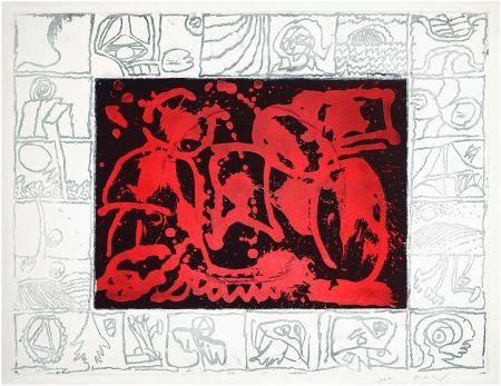 Engraving Alechinsky - Facteur rhésus