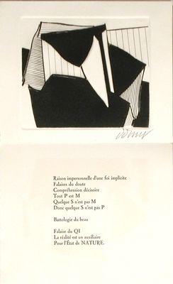 Illustrated Book Dorny - Falaises du doute