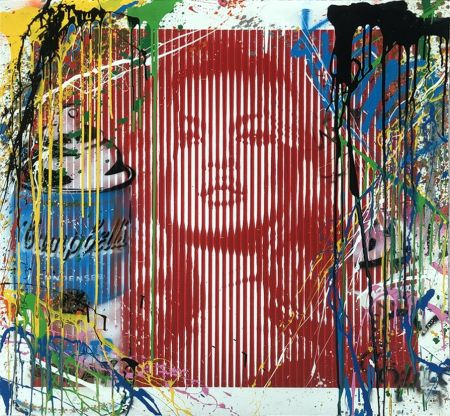 No Technical Mr. Brainwash - Fame Moss Red/ Kate Moss (HPM)