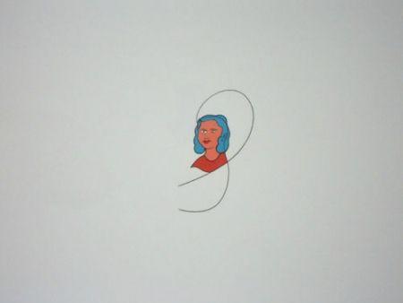 Lithograph Dominicis (De) - Famiglia