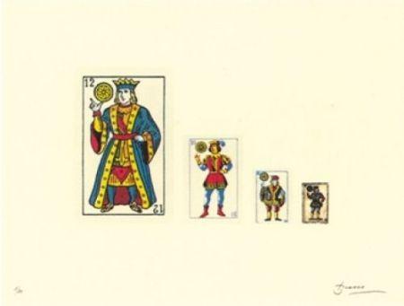 Lithograph Brossa - Familia