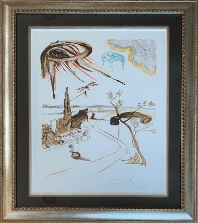 Lithograph Dali - Fantastic Voyage