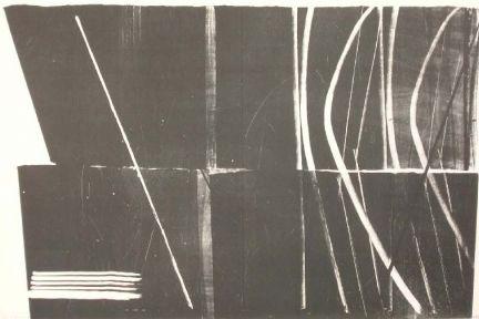Lithograph Hartung - Farandole 11