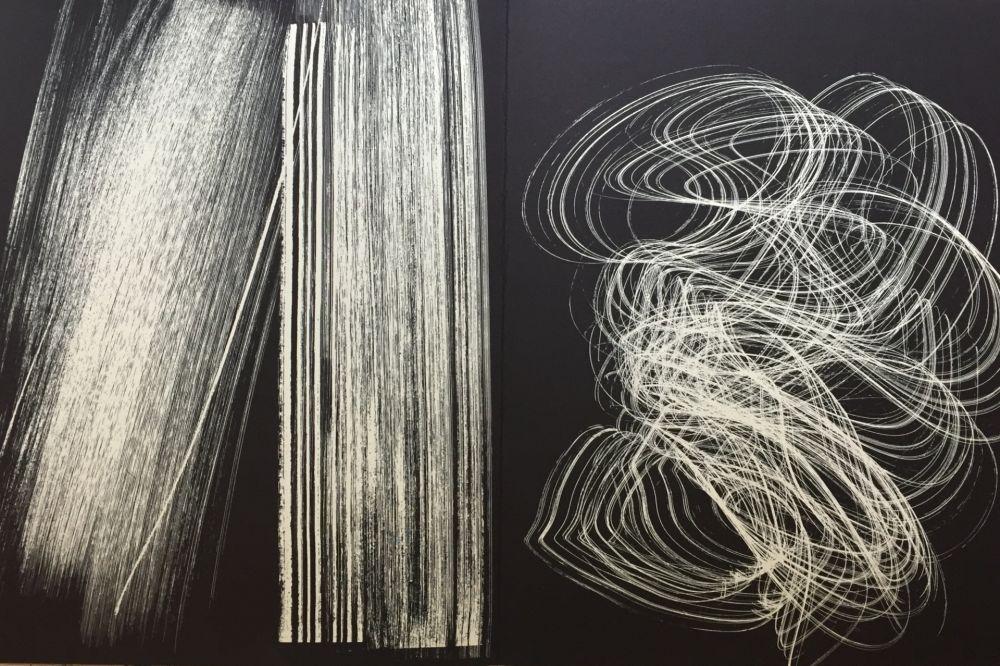 Lithograph Hartung - Farandole 13