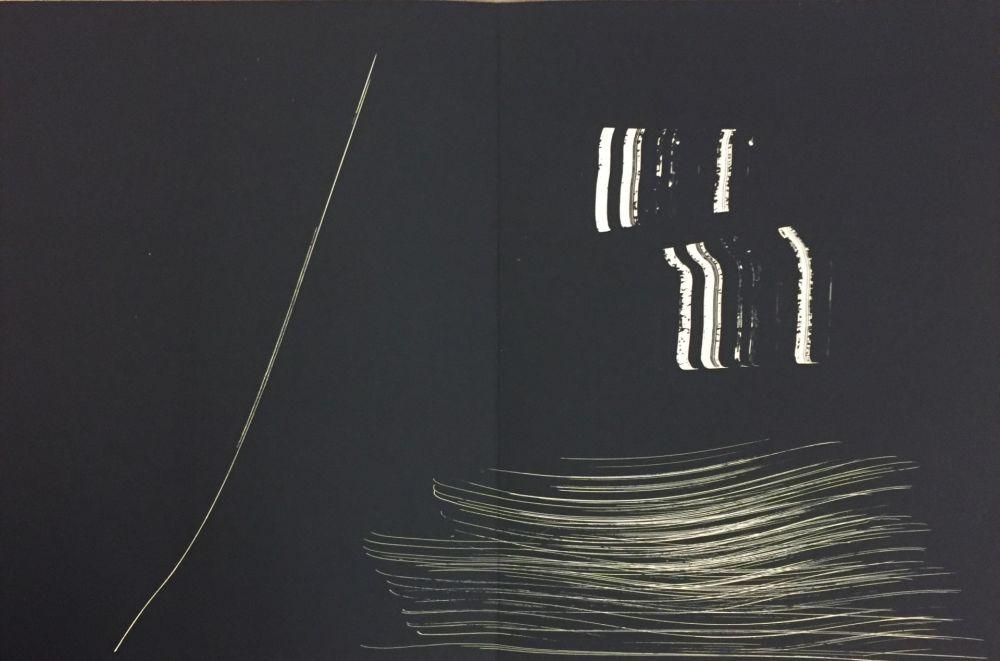 Lithograph Hartung - Farandole 14