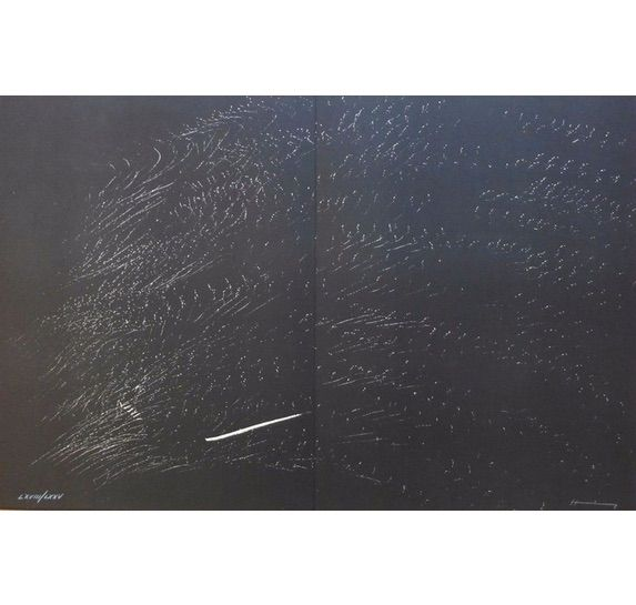Lithograph Hartung - Farandole 2