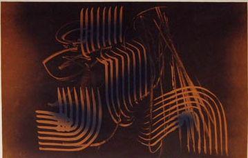 Lithograph Hartung - Farandole 5