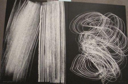 Lithograph Hartung - Farandole 6