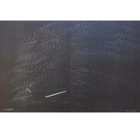 Lithograph Hartung - Farandole B