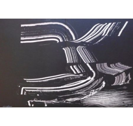 Lithograph Hartung - Farandole D