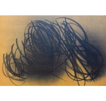 Lithograph Hartung - Farandole E