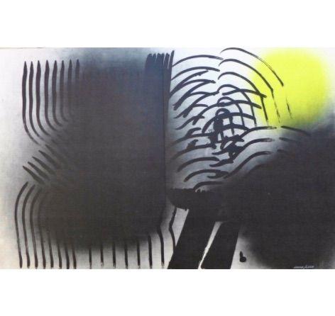 Lithograph Hartung - Farandole F