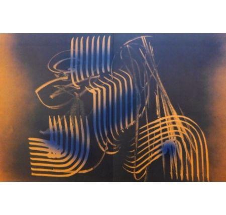 Lithograph Hartung - Farandole G