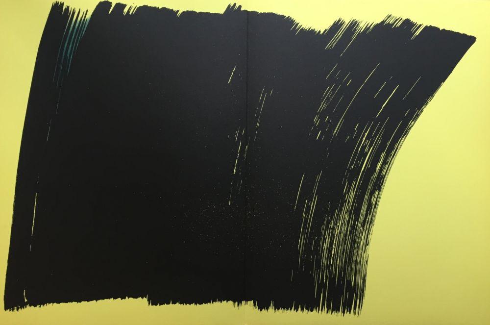 Lithograph Hartung - Farandole K