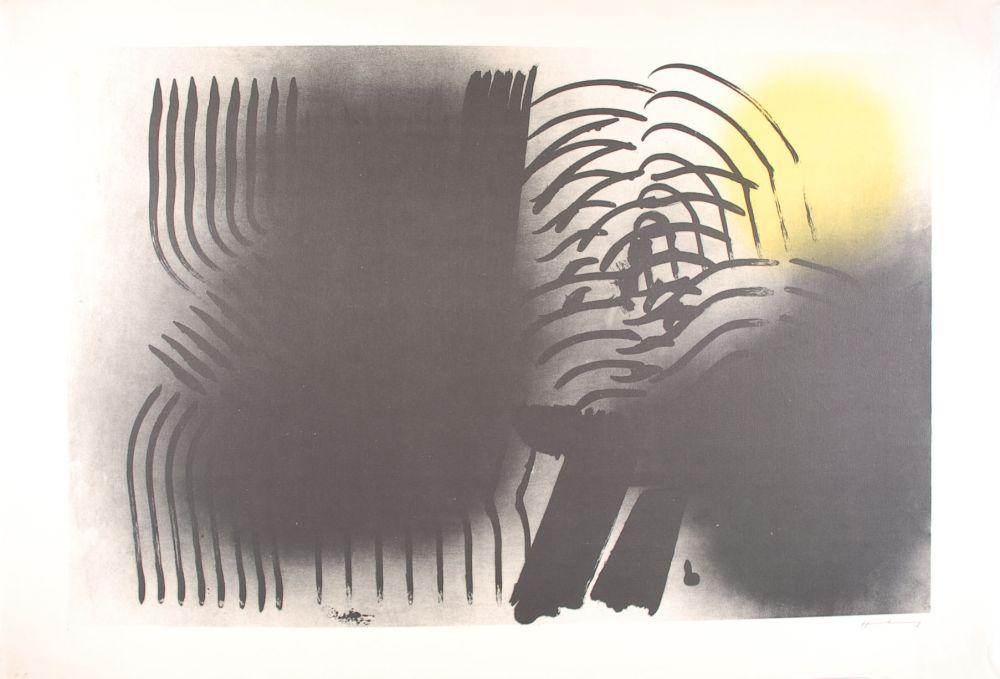Lithograph Hartung - FARANDOLE : L 1970-2