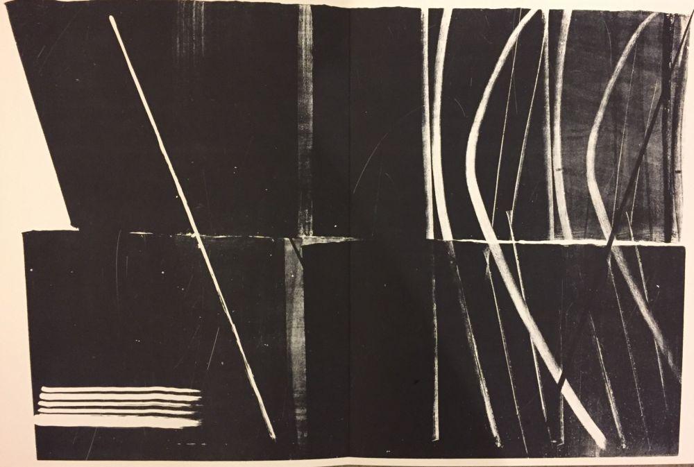 Lithograph Hartung - Farandole N