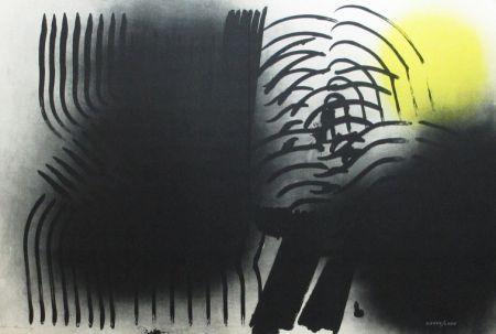 Lithograph Hartung - Farandole n°6