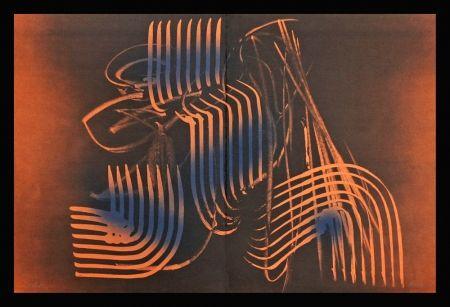 Lithograph Hartung - Farandole VI