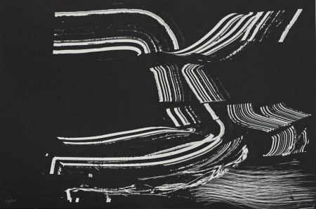 Lithograph Hartung - Farandole XIV