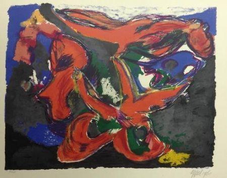 Lithograph Appel - Faune Nocturne