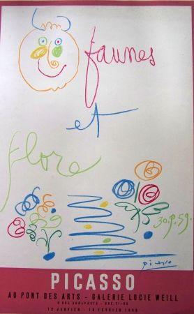 Lithograph Picasso - Faunes et flore