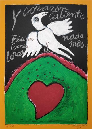Screenprint Corneille - Federico Garcia Lorca