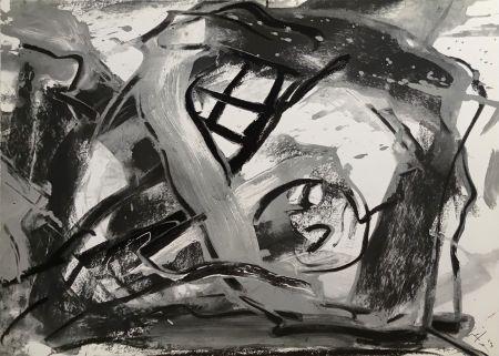 Screenprint Vedova - Federico Garcia Lorca