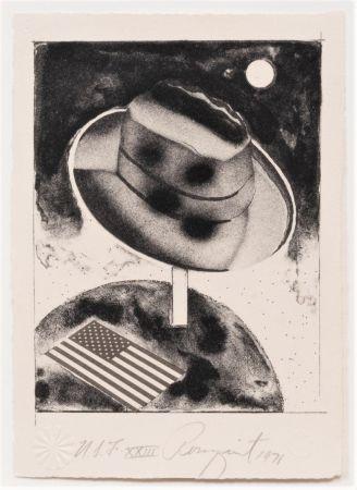 Lithograph Rosenquist - Fedora