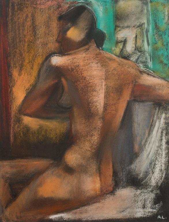 Lithograph Lhote - Femme