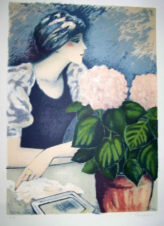 Lithograph Cassigneul  - Femme