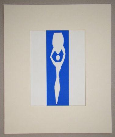Lithograph Matisse (After) - Femme à l'amphore - 1952