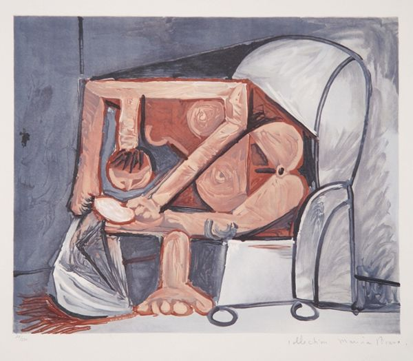 Lithograph Picasso (After) -