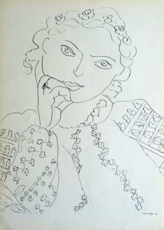 Offset Matisse - Femme Accoudee