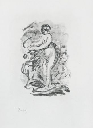 No Technical Renoir - Femme au cep de vigne, I Variante (Woman by the Grapevine, First Variant)
