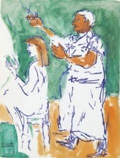 No Technical Mualla - Femme chez le coiffeur