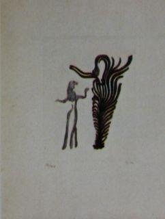 Etching And Aquatint Fenosa - Femmes arbres