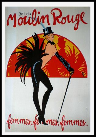 Poster Gruau - FEMMES FEMMES FEMMES