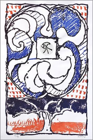 Lithograph Alechinsky - Fenêtre