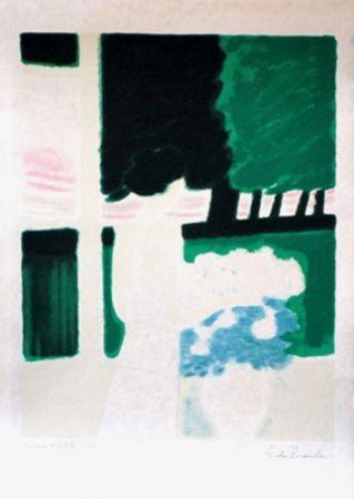 Lithograph Brasilier - Fenetre sur le parc