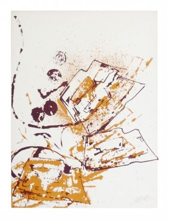 Lithograph Arman - Fer à repasser