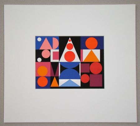 Screenprint Herbin - Fer Acier - 1946
