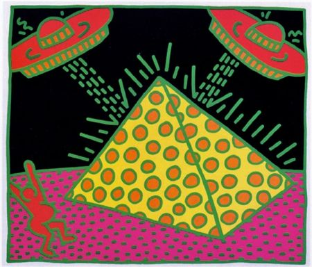 Screenprint Haring - FERTILITY #2 (FROM FERTILITY SUITE)