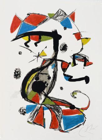 Lithograph Miró - Festa Major