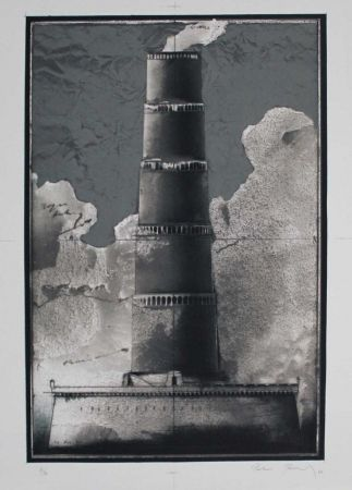 Lithograph Paul - Festungsturm