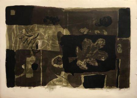 Lithograph Clavé - Feuille d'Automne