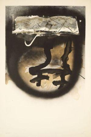Lithograph Tàpies - FIAC 1983