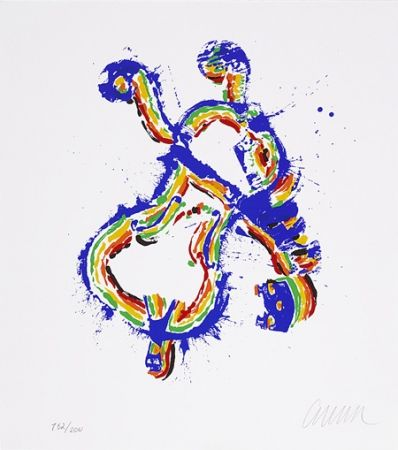 Screenprint Arman - Fiddlemania I