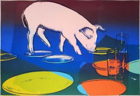 Screenprint Warhol - FIESTA PIG FS II.184