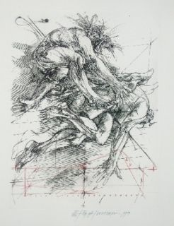 Etching Velickovic - Fig.A