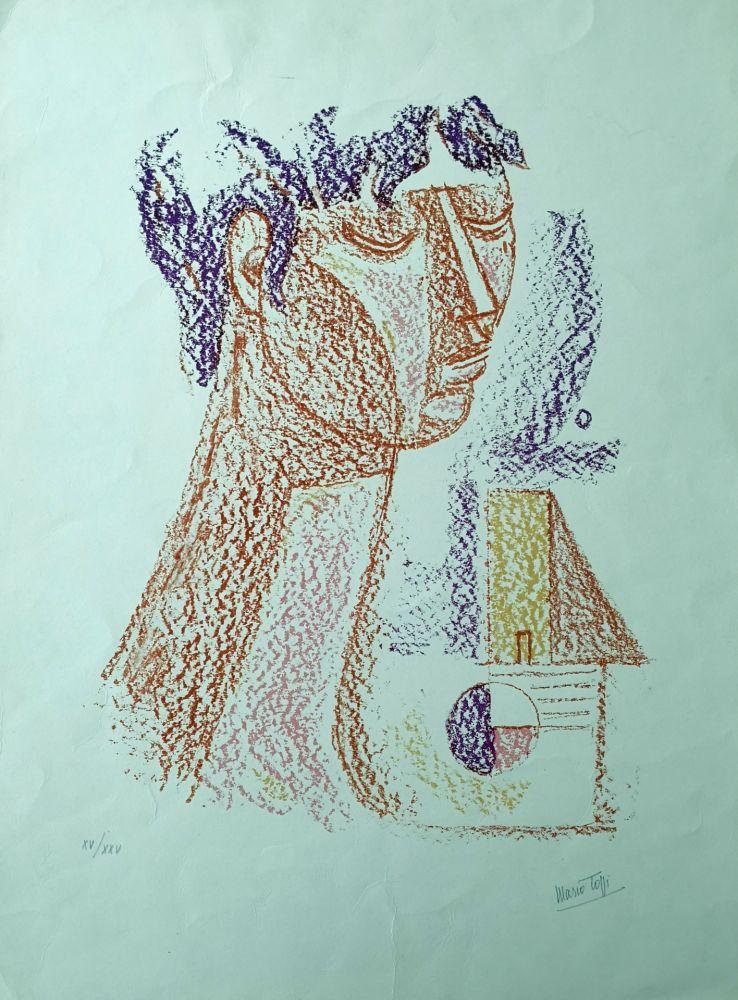 Lithograph Tozzi - Figura